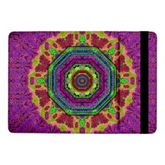 Mandala In Heavy Metal Lace And Forks Samsung Galaxy Tab Pro 10 1  Flip Case by pepitasart