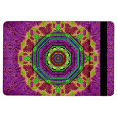 Mandala In Heavy Metal Lace And Forks Ipad Air 2 Flip by pepitasart