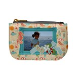 Beach-summer-flip flops- mini coin purse