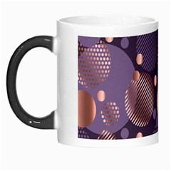 Random Polka Dots, Fun, Colorful, Pattern,xmas,happy,joy,modern,trendy,beautiful,pink,purple,metallic,glam, Morph Mugs by 8fugoso