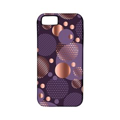Random Polka Dots, Fun, Colorful, Pattern,xmas,happy,joy,modern,trendy,beautiful,pink,purple,metallic,glam, Apple Iphone 5 Classic Hardshell Case (pc+silicone) by 8fugoso