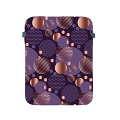 Random Polka Dots, Fun, Colorful, Pattern,xmas,happy,joy,modern,trendy,beautiful,pink,purple,metallic,glam, Apple Ipad 2/3/4 Protective Soft Cases by 8fugoso