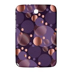 Random Polka Dots, Fun, Colorful, Pattern,xmas,happy,joy,modern,trendy,beautiful,pink,purple,metallic,glam, Samsung Galaxy Note 8 0 N5100 Hardshell Case  by 8fugoso
