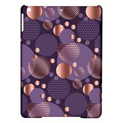 Random Polka Dots, Fun, Colorful, Pattern,xmas,happy,joy,modern,trendy,beautiful,pink,purple,metallic,glam, Ipad Air Hardshell Cases by 8fugoso