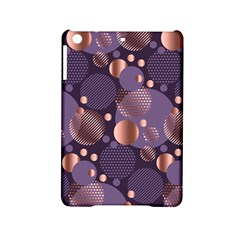 Random Polka Dots, Fun, Colorful, Pattern,xmas,happy,joy,modern,trendy,beautiful,pink,purple,metallic,glam, Ipad Mini 2 Hardshell Cases by 8fugoso