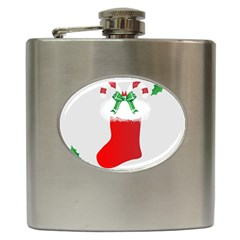 Christmas Stocking Hip Flask (6 Oz) by christmastore