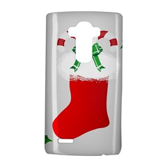 Christmas Stocking Lg G4 Hardshell Case by christmastore