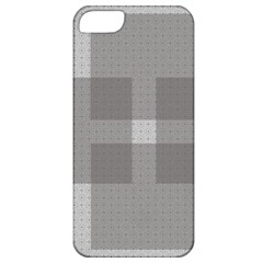 Gray Designs Transparency Square Apple Iphone 5 Classic Hardshell Case