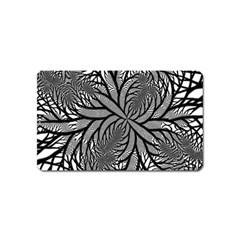 Fractal Symmetry Pattern Network Magnet (name Card) by Celenk