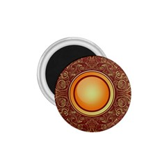 Badge Gilding Sun Red Oriental 1 75  Magnets