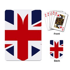 Uk Flag United Kingdom Playing Card by Celenk