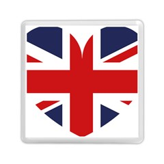 Uk Flag United Kingdom Memory Card Reader (square)