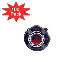 Hamburg, Minn Fire Dept 1  Mini Magnets (100 Pack)  by teambridelasvegas