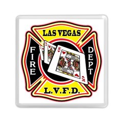 Las Vegas Fire Department Memory Card Reader (square)