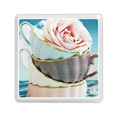 Tea Cups Memory Card Reader (square)
