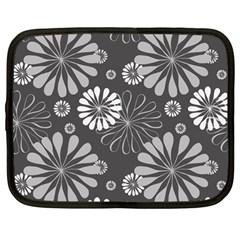 Floral Pattern Floral Background Netbook Case (large) by Celenk