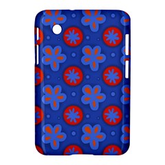 Seamless Tile Repeat Pattern Samsung Galaxy Tab 2 (7 ) P3100 Hardshell Case  by Celenk