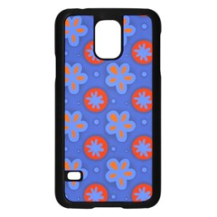 Seamless Tile Repeat Pattern Samsung Galaxy S5 Case (black) by Celenk