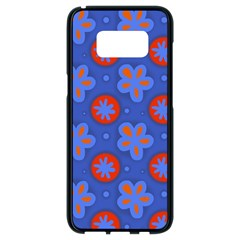 Seamless Tile Repeat Pattern Samsung Galaxy S8 Black Seamless Case