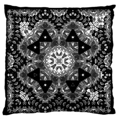 Mandala Calming Coloring Page Standard Flano Cushion Case (two Sides) by Celenk