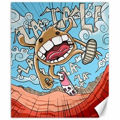 Illustration Characters Comics Draw Canvas 20  X 24   by Celenk