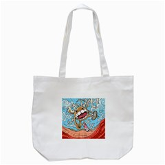 Illustration Characters Comics Draw Tote Bag (white) by Celenk