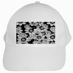 Mandala Calming Coloring Page White Cap by Celenk