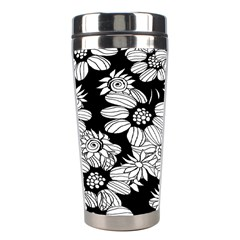 Mandala Calming Coloring Page Stainless Steel Travel Tumblers by Celenk