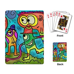 Painting Painted Ink Cartoon Playing Card by Celenk