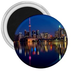 Buildings Can Cn Tower Canada 3  Magnets by Celenk