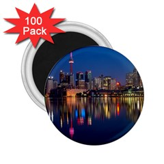 Buildings Can Cn Tower Canada 2 25  Magnets (100 Pack)  by Celenk