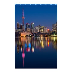 Buildings Can Cn Tower Canada Shower Curtain 48  X 72  (small)  by Celenk