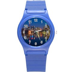 Buildings Can Cn Tower Canada Round Plastic Sport Watch (s) by Celenk