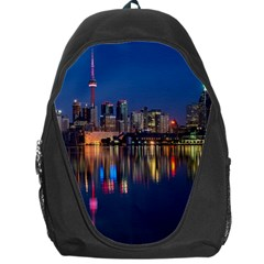 Buildings Can Cn Tower Canada Backpack Bag