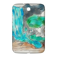 Doodle Sketch Drawing Landscape Samsung Galaxy Note 8 0 N5100 Hardshell Case  by Celenk