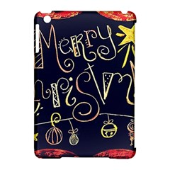 Chalk Chalkboard Board Frame Apple Ipad Mini Hardshell Case (compatible With Smart Cover) by Celenk
