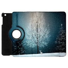 Winter Wintry Snow Snow Landscape Apple Ipad Mini Flip 360 Case by Celenk