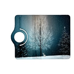 Winter Wintry Snow Snow Landscape Kindle Fire Hd (2013) Flip 360 Case by Celenk