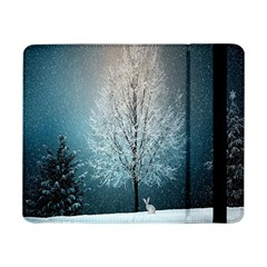 Winter Wintry Snow Snow Landscape Samsung Galaxy Tab Pro 8 4  Flip Case by Celenk