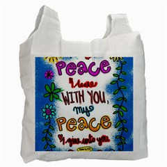 Christian Christianity Religion Recycle Bag (one Side) by Celenk