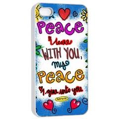 Christian Christianity Religion Apple Iphone 4/4s Seamless Case (white) by Celenk