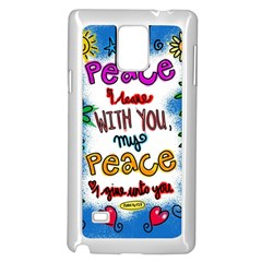 Christian Christianity Religion Samsung Galaxy Note 4 Case (white) by Celenk
