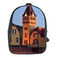 Blue Hour Colliery House School Bag (xl) by Celenk