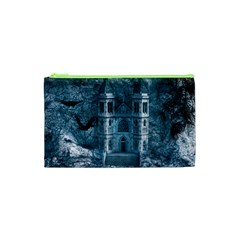 Church Stone Rock Building Cosmetic Bag (xs) by Celenk