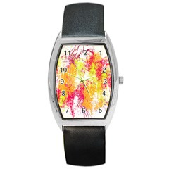 Painting Spray Brush Paint Barrel Style Metal Watch by Celenk