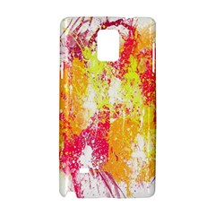 Painting Spray Brush Paint Samsung Galaxy Note 4 Hardshell Case by Celenk