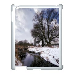 Winter Bach Wintry Snow Water Apple Ipad 3/4 Case (white) by Celenk