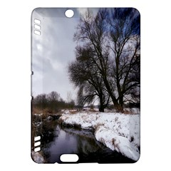 Winter Bach Wintry Snow Water Kindle Fire Hdx Hardshell Case by Celenk