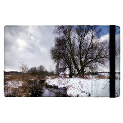 Winter Bach Wintry Snow Water Apple Ipad Pro 12 9   Flip Case by Celenk