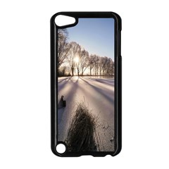 Winter Lake Cold Wintry Frozen Apple Ipod Touch 5 Case (black) by Celenk